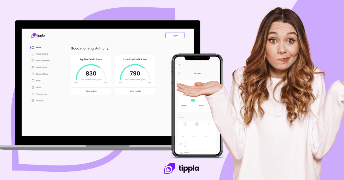 How to Use Tippla   Check Your Credit Score For Free